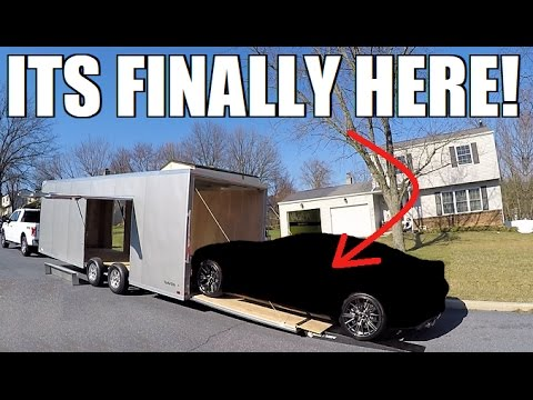 The NEW CAR Gets Delivered EARLY!!!
