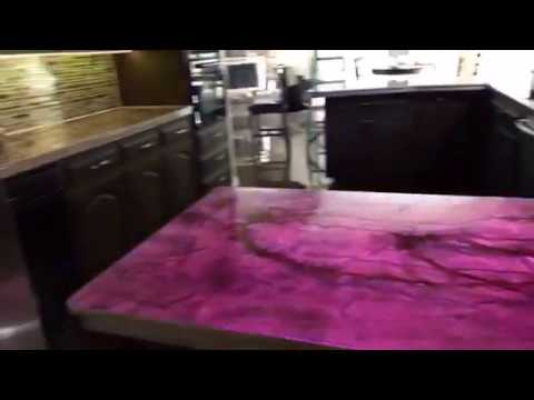 My DIY epoxy one piece counters & kitchen remodel