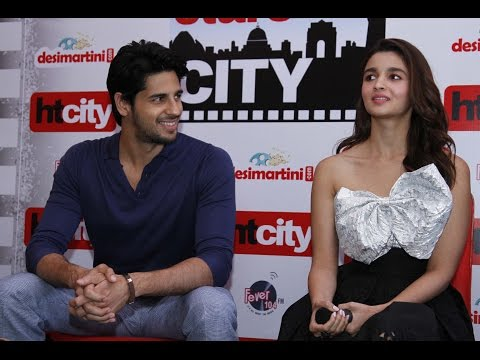 'I get lost in Sidharth's eyes, it's difficult to work with him': Alia Bhatt