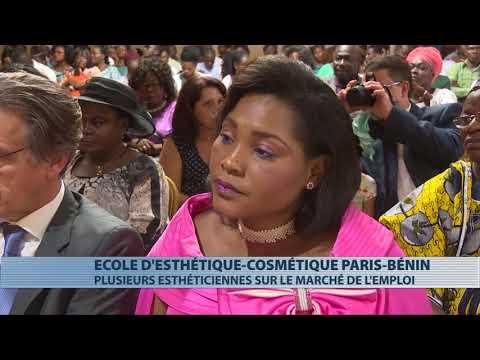 Société : remise de diplômes aux apprenants de Paris Esthétique Bénin