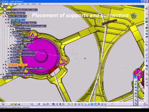CATIA V5 Electrical Wire Harness Design WHX  sc 1 st  YouTube : catia wiring harness design tutorials - yogabreezes.com