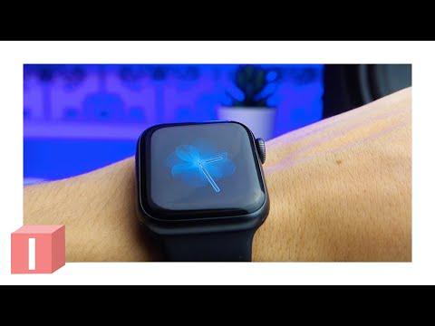 Распаковка Apple Watch 5 - стоит ли покупать?