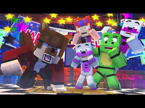 Minecraft FNAF 6 Pizzeria Simulator - WEREWOLF BRYAN! (Minecraft Roleplay)