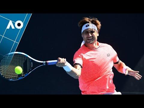 Ferrer v Escobedo match highlights (2R)   Australian Open 2017