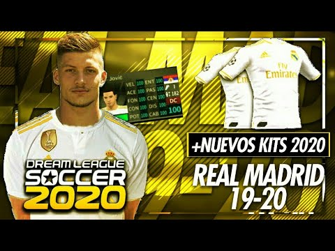 Plantilla del Real Madrid para el DLS 2019//DREAM LEAGUE SOCCER 2019//CALIXTO DROID
