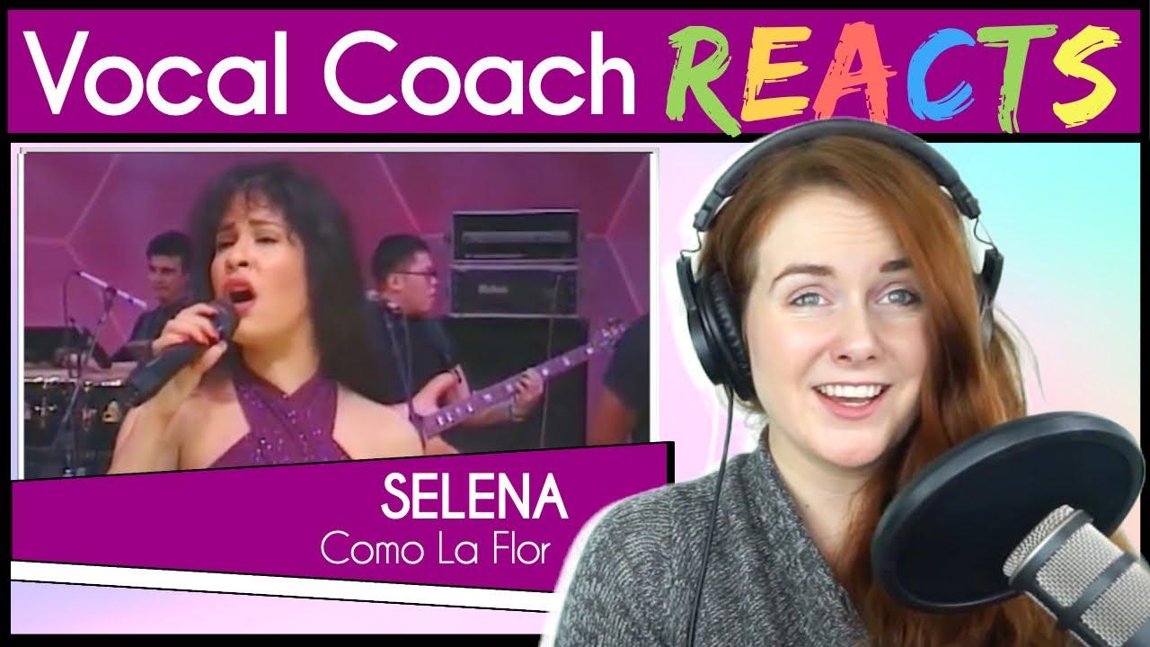 Vocal Coach reacts to Selena Quintanilla - Como La Flor (Live From Astrodome)