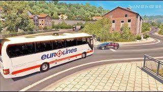 BUS DRIVING | TRIP ETS2 (Euro Truck Simulator 2)