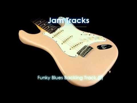 Funky Blues Backing Track (E)