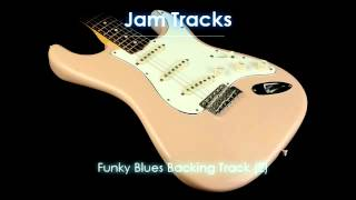 Funky Blues Backing Track (E)