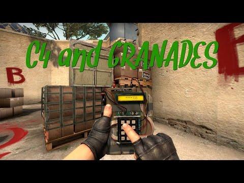 CS:GO C4 and GRANADES PARA CS 1.6