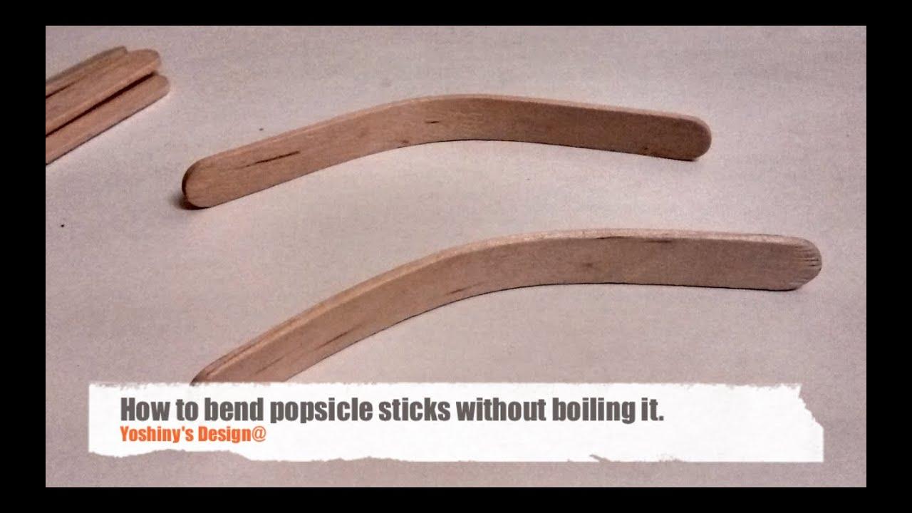 How To Bend Craft Sticks