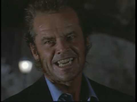 "Jack Nicholson in ""WOLF"" - "" i got about a thousand in my wallet"""
