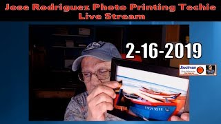 Jose Rodriguez LIVE Stream 6:00PM 2-16-2019 Eastern Time USA