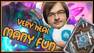 Very heals, Much removal, Many fun, such WoW deck | Rastakhan