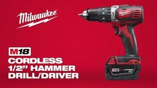 "Milwaukee® M18™ 1/2"" Hammer Drill Driver 2607-22"