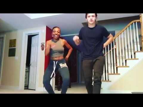 Tom Holland and deja carter dancing (instagram)