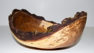Elm Bowl And Maple Vase