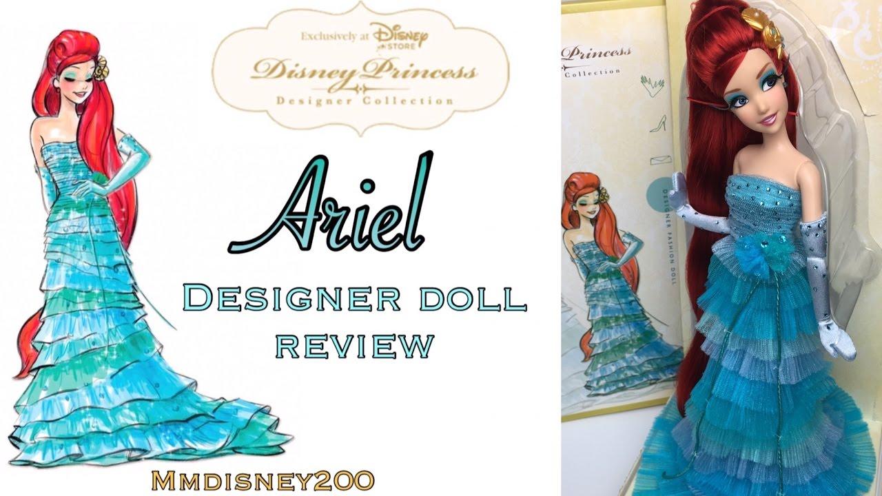 Ariel Disney Princess designer collection Doll Review