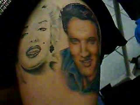 Elvis presley tattoo youtube for Elvis presley tattoos