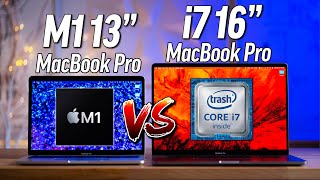 "M1 13"" MacBook Pro vs 16"" MacBook Pro: I'm dumbfounded.."