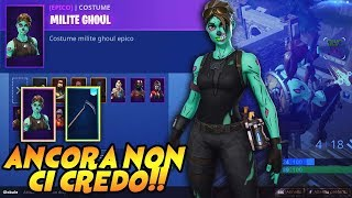 Ho TROVATO an ACCOUNT with a RARISSIMA SKIN GHOUL TROOPER ITA ? FORTNITE HALLOWEN GAMEPLAY