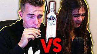 OSTRY ALKOHOLOWY CHALLENGE Z DZIEWCZYNĄ!