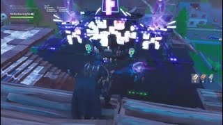 Building marshmellow and seeing my first event in fortnite!!!!!