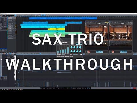 8Dio Official Studio Sax Trio Walk-through