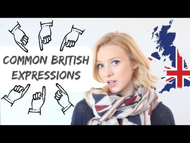 5 Common British English Expressions!