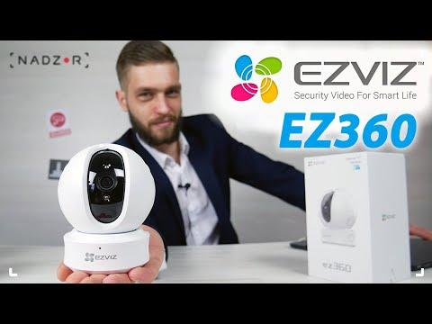 Ezviz ez360 - поворотные Wi-Fi IP камеры. Обзор, качество изображения и подключение камеры.