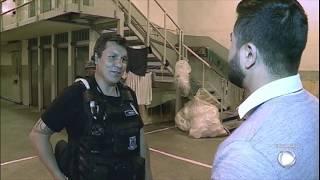 Câmera Record exibe fuga cinematográfica de presídio em Curitiba (PR)