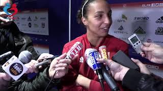 Sarah Bouhaddi (OL) : « On reste une équipe qui a toujours envie de gagner »