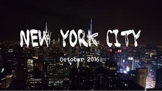 NEW YORK CITY impressions 2016 | Anna Sophia