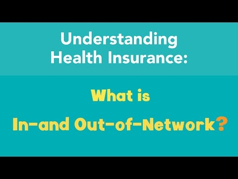 What is in- and out-of-network?