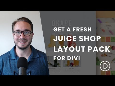 Get a FREE & Fresh Juice Shop Layout Pack