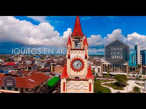 IQUITOS EN 4K / SHOW REEL DRONE
