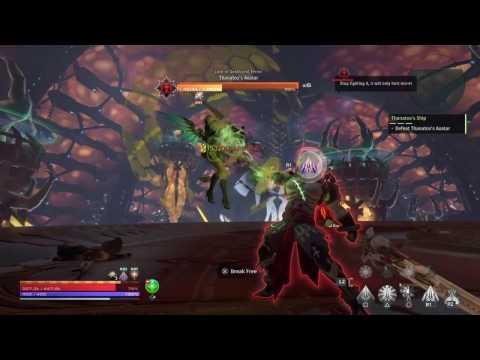 Skyforge - PS4 - Thanatos Boss Fight [SOLO] Paladin/Cryomancer + Divine Form