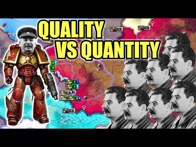 Quality vs Quantity in Hearts of Iron 4