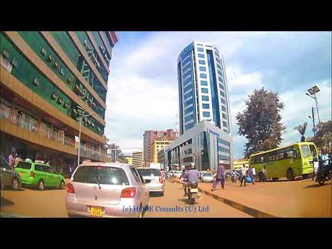 Afternoon Drive Through Kampala City from Wandegeya to Enter