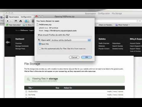 how to add pdf to squarespace