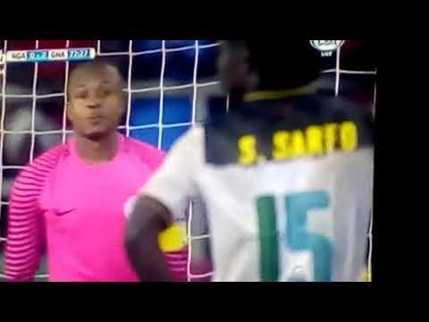 Ghana 3rd goal against Nigeria