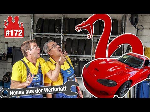 Mit Werner an der Viper 🔥🔥🔥   Airbag-OP am 8-Liter-Monster & Komische Lenkgeräusche am BMW 118i