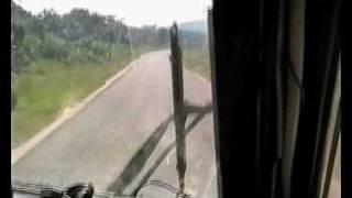 Crazy pilots landing L-410 to Walikale(Congo small road)