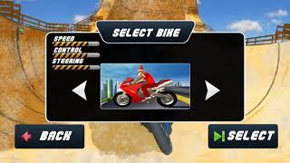 Mega Christmas Snow Ramp Santa Bike Stunts 2018 - Android Mobile Games 4 Kids