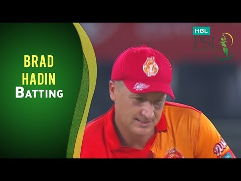 HBL PSL Final - Islamabad United vs Quetta Gladiators - Brad Haddin Batting