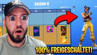 SEASON 8 LEVEL 100 FREE IN Fortnite Battle Pass !