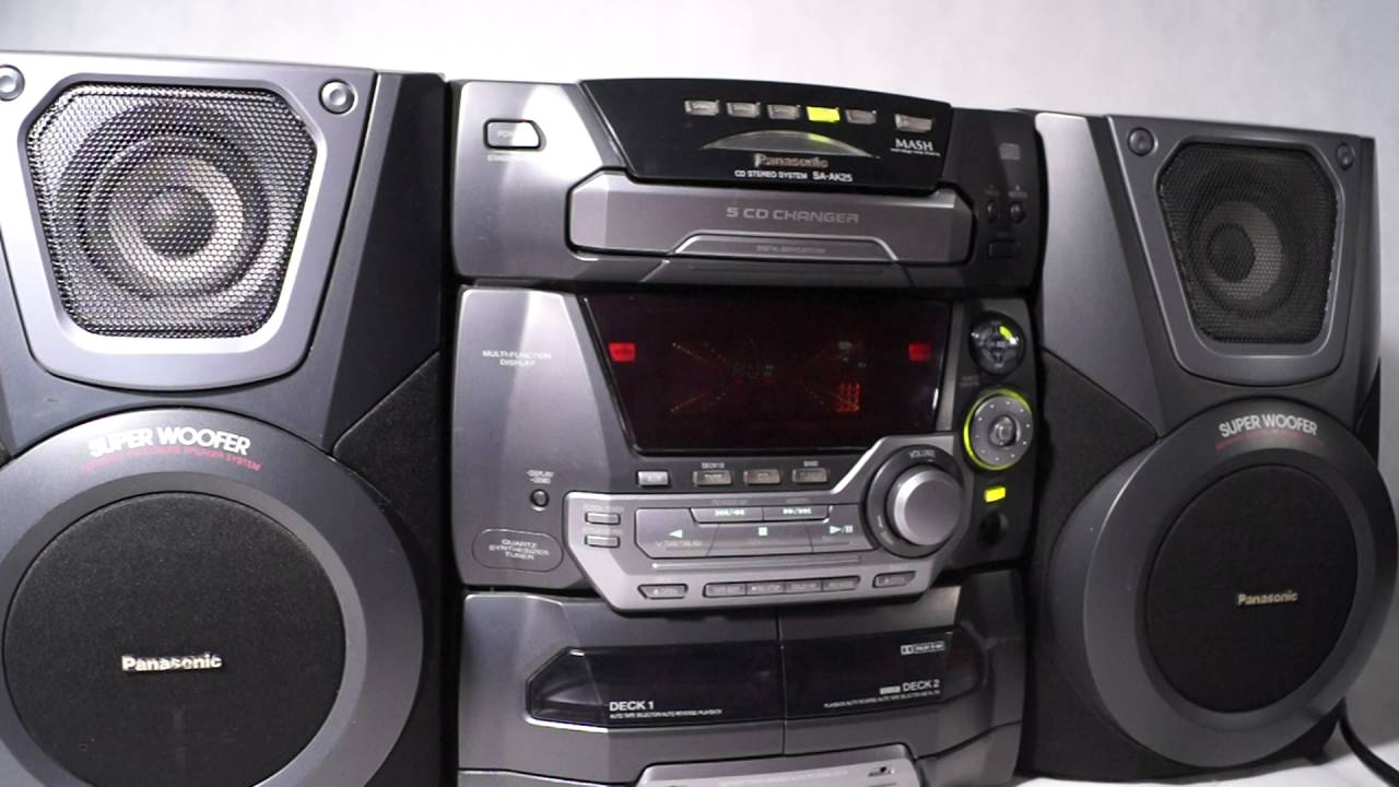 Panasonic Sa Ak25 Uszkodzona 1