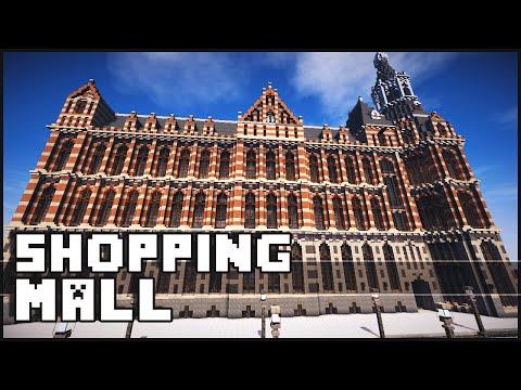 Minecraft - Amazing Shopping Mall & Amsterdam!