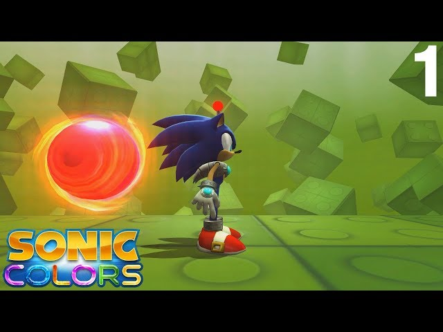 Sonic Colors (Wii) [4K] - Game Land 1 Act 1-3