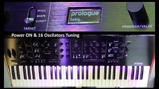 KORG Prologue 16 - Factory Presets Demo